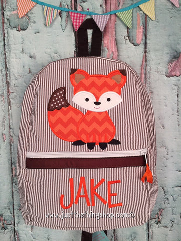 Fox Backpack - Just The Thing Shop