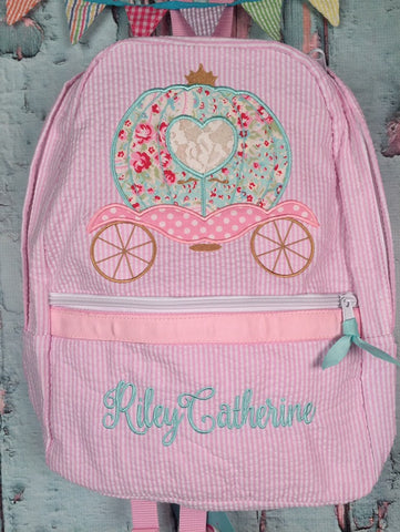 Princess Carriage Backpack - Just The Thing Shop