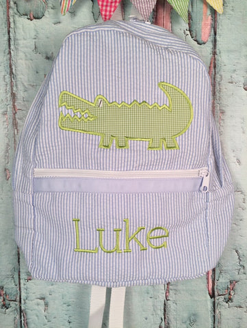Boy Alligator Backpack - Just The Thing Shop
