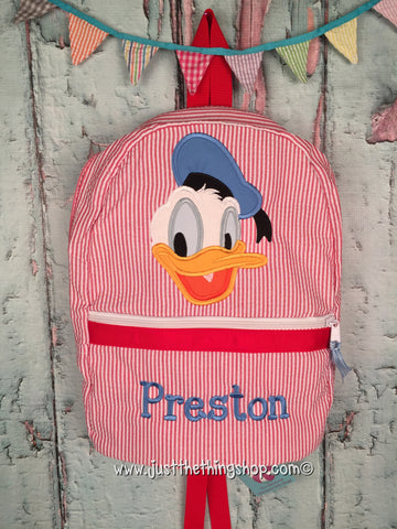 Donald Duck Backpack - Just The Thing Shop