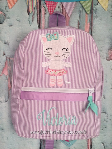 Cat Ballerina Backpack - Just The Thing Shop