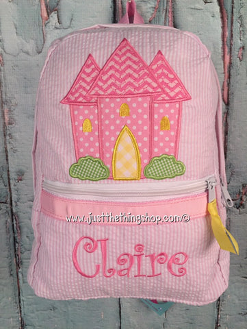 Princess Castle Backpack - Just The Thing Shop