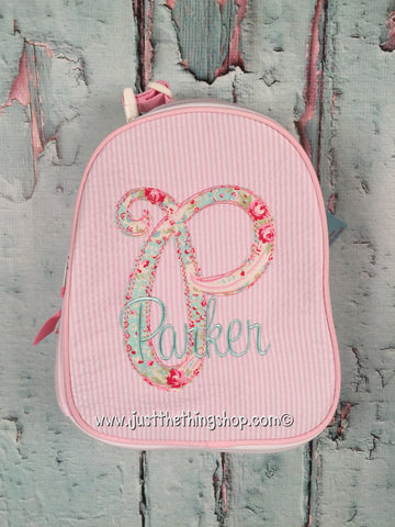 Scribble Applique Gumdrop Lunch Box - Just The Thing Shop
