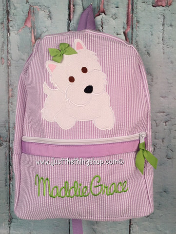 Puppy Scottie / Terrier Backpack - Just The Thing Shop
