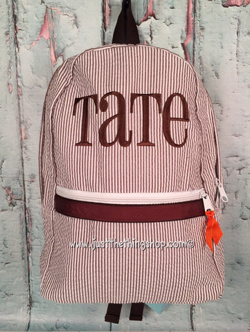 Pharmacy Monogram Backpack - Just The Thing Shop