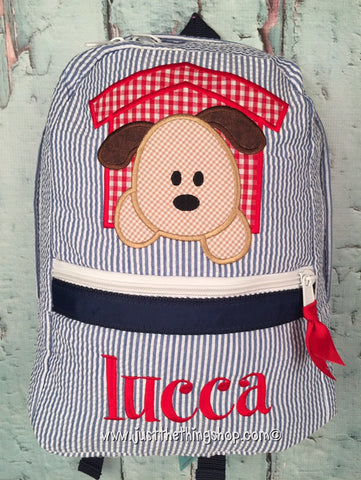 Puppy Dog House Backpack - Just The Thing Shop