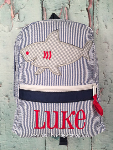 Shark Backpack - Just The Thing Shop