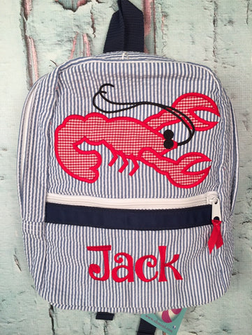 Crawfish Backpack - Just The Thing Shop