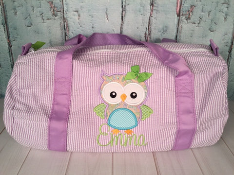 Girl Owl Duffel - Just The Thing Shop