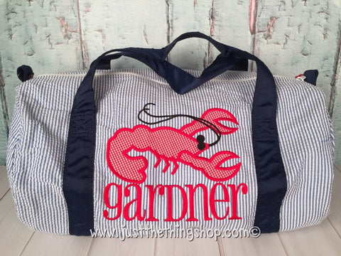 Crawfish Duffel - Just The Thing Shop