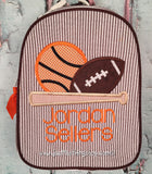 Sports Ball and Bat Gumdrop Lunch Box - Just The Thing Shop