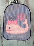Girl Whale Gumdrop Lunch Box