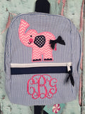 Elephant (side) Backpack - Just The Thing Shop