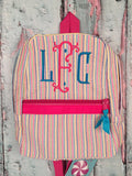 Gretchen Monogram For Girls Backpack - Just The Thing Shop