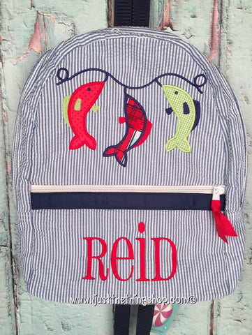 Fish Stringer Backpack - Just The Thing Shop