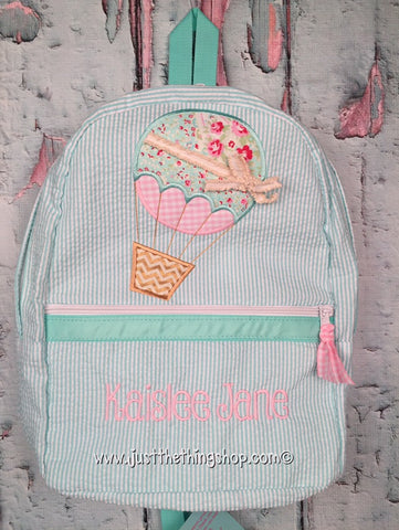 Hot Air Balloon Backpack - Just The Thing Shop