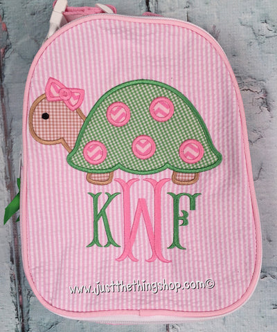 Girl Turtle Gumdrop Lunch Box - Just The Thing Shop