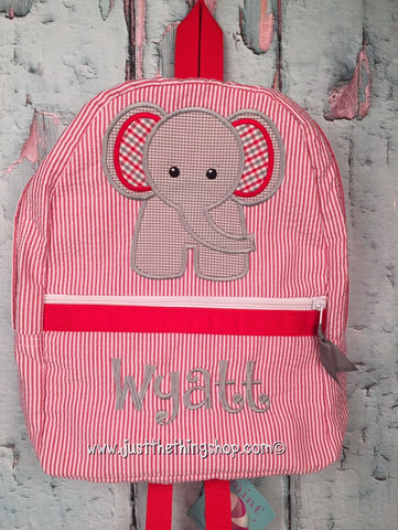Elephant (front) Backpack - Just The Thing Shop