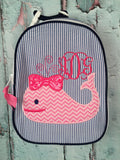 Girl Whale Gumdrop Lunch Box - Just The Thing Shop