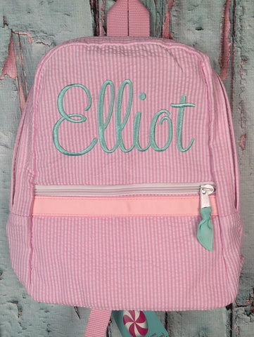 Sweetheart Script Monogram Backpack - Just The Thing Shop