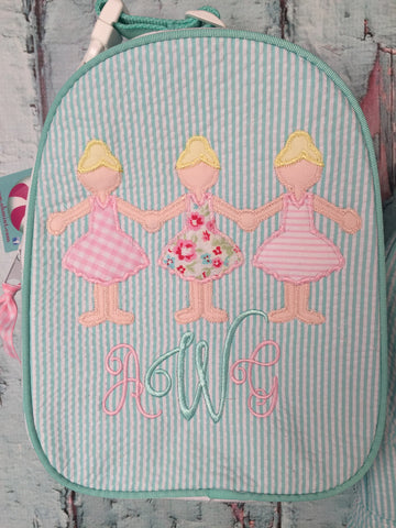 Ballerina Paperdolls Gumdrop Lunch Box - Just The Thing Shop