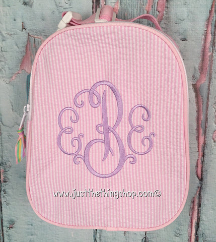 Suzanne Monogram for Girls Gumdrop Lunch Box - Just The Thing Shop