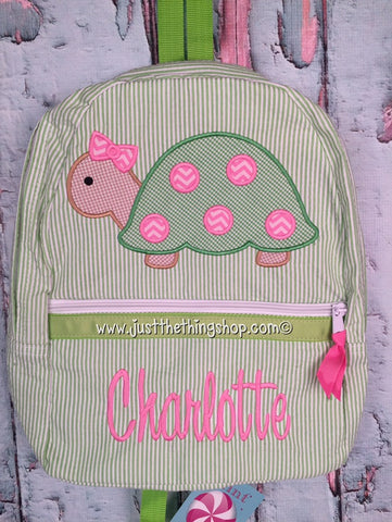 Girl Turtle Backpack - Just The Thing Shop