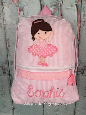 Ballerina Backpack - Just The Thing Shop