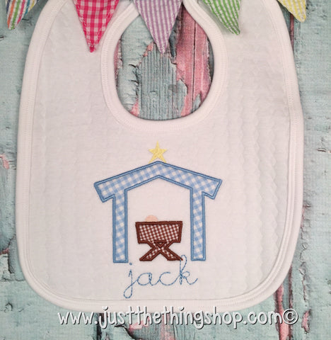 Manger Bibs and Burps - Just The Thing Shop