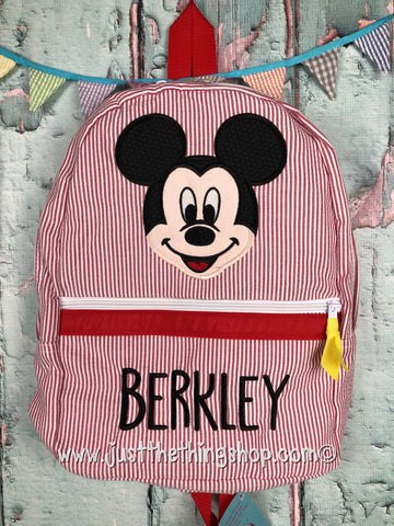 Mickey Mouse Face Backpack - Just The Thing Shop