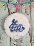 Rabbit Herend Style Bunny Button Jewelry Bags - Just The Thing Shop