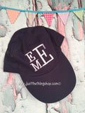 Monogrammed Baseball Hat | Adult Unstructured Low-Profile Twill Cap - Just The Thing Shop