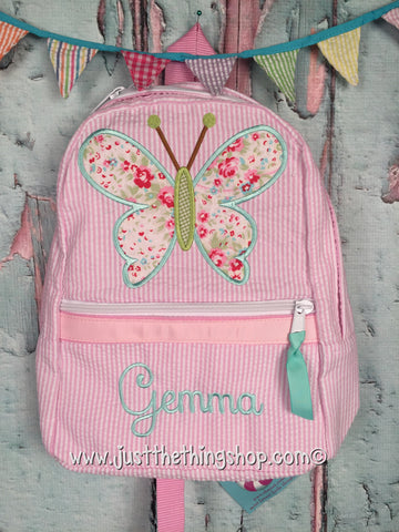 Butterfly 2 Backpack - Just The Thing Shop