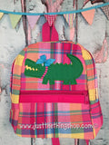 Girl Alligator Backpack - Just The Thing Shop