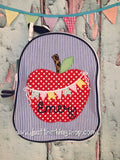 Apple Bunting Applique Gumdrop Lunch Box - Just The Thing Shop