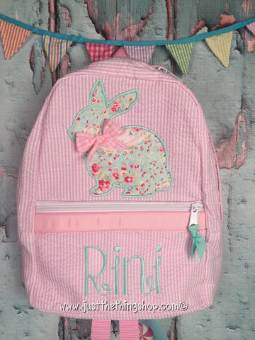 Bunny Silhouette Backpack - Just The Thing Shop