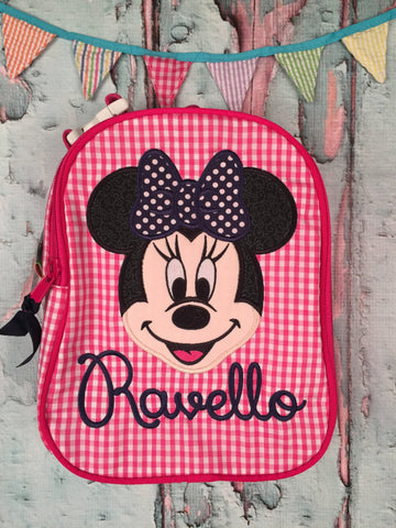 Minnie Mouse Face Gumdrop Lunch Box