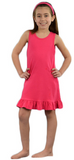 Bunny Silhouette Applique Ruffle Bottom Tank Dress - Just The Thing Shop