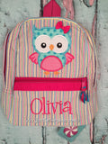 Girl Owl Backpack - Just The Thing Shop