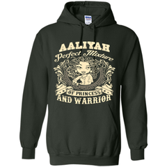 Aaliyah Perfect Mixture Of Princess And Warrior T Shirts Pullover Hoodie 8 oz - Family Reunion Tee