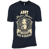 Abby Perfect Mixture Of Princess And Warrior T Shirts