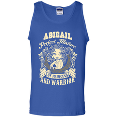 Abigail Perfect Mixture Of Princess And Warrior T Shirts Tank Top - Family Reunion Tee