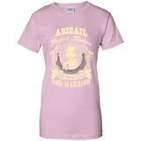 Abigail Perfect Mixture Of Princess And Warrior T Shirts