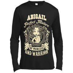 Abigail Perfect Mixture Of Princess And Warrior T Shirts Long Sleeve Moisture Absorbing Shirt - Family Reunion Tee