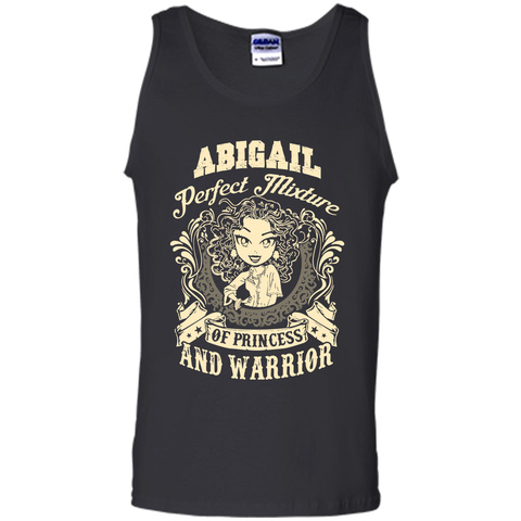 Abigail Perfect Mixture Of Princess And Warrior T Shirts Black / Small Tank Top - Family Reunion Tee