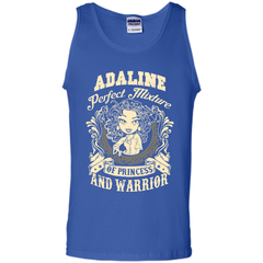 Adaline Perfect Mixture Of Princess And Warrior T Shirts Tank Top - Family Reunion Tee