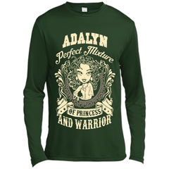 Adalyn Perfect Mixture Of Princess And Warrior T Shirts Long Sleeve Moisture Absorbing Shirt - Family Reunion Tee