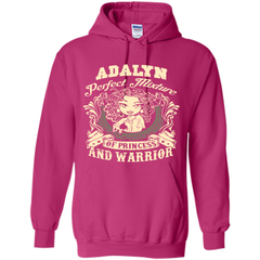 Adalyn Perfect Mixture Of Princess And Warrior T Shirts Pullover Hoodie 8 oz - Family Reunion Tee