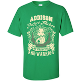 Addison Perfect Mixture Of Princess And Warrior T Shirts