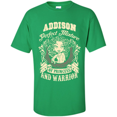 Addison Perfect Mixture Of Princess And Warrior T Shirts Custom Ultra Cotton - Family Reunion Tee